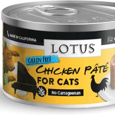 Lotus Natural Pet Food Lotus Cat Chicken Pate 2.75oz