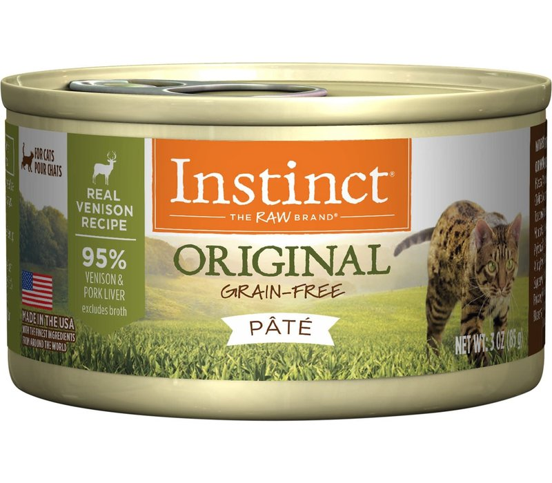 Instinct Venison 5.5oz Cat