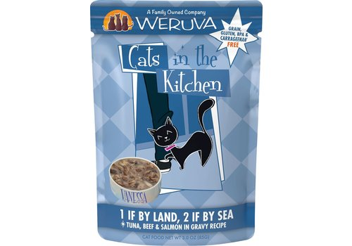 Weruva Weruva WRV 1 Land 2 Sea Cat 3oz