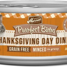 Merrick Merrick Purrfect Bistro Thanksgiving Cat 5.5oz