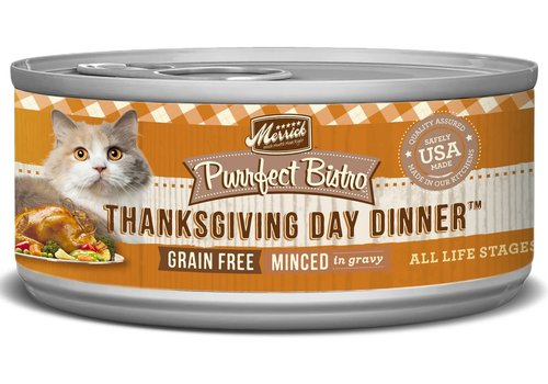Merrick Purrfect Bistro Thanksgiving Cat 5.5oz