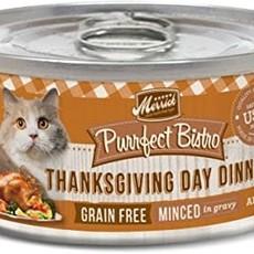Merrick Merrick Purrfect Bistro Thanksgiving 3oz