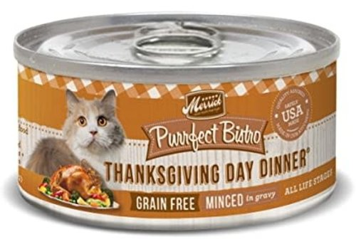Merrick Merrick Purrfect Bistro Thanksgiving 3oz