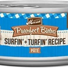 Merrick Merrick Purrfect Bistro Surf&Turf 5.5oz