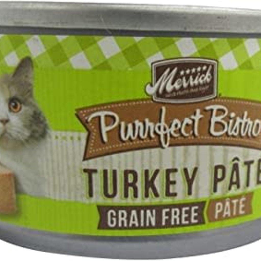 Merrick Purrfect Bistro Turkey 3oz