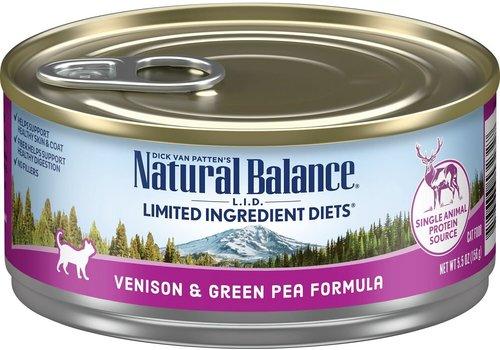 Natural Balance NB Venison 6oz Cat