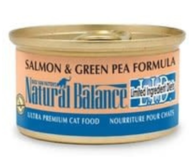 Natural Balance Limited Ingredient Diet Cat Salmon 3oz