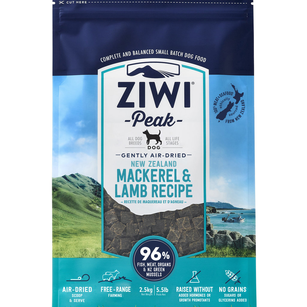 Ziwi Peak Ziwi Peak Air-Dried Mackerel/Lamb 5.5lbs