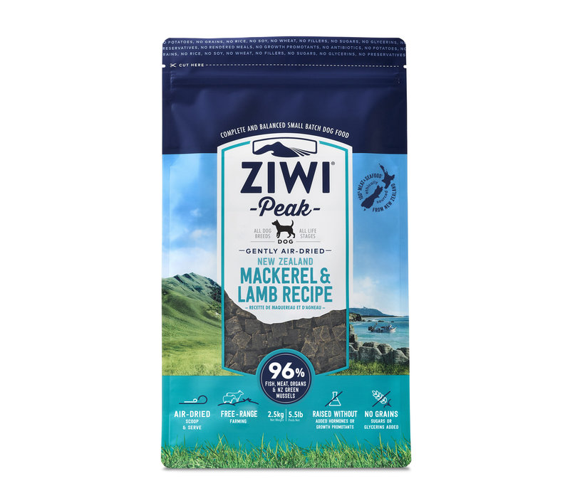 Ziwi Peak Air-Dried Mackerel/Lamb 5.5lbs