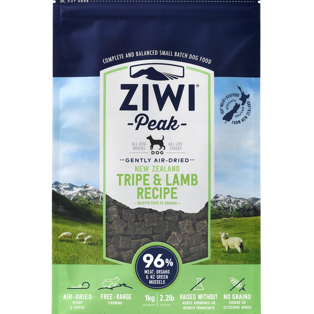 Ziwi Peak Ziwi Peak Air-Dried Dog Tripe/Lamb 2.2lbs