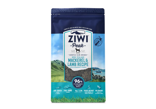 Ziwi Peak Ziwi Peak Air-Dried Dog Mackerel & Lamb 2.2lbs