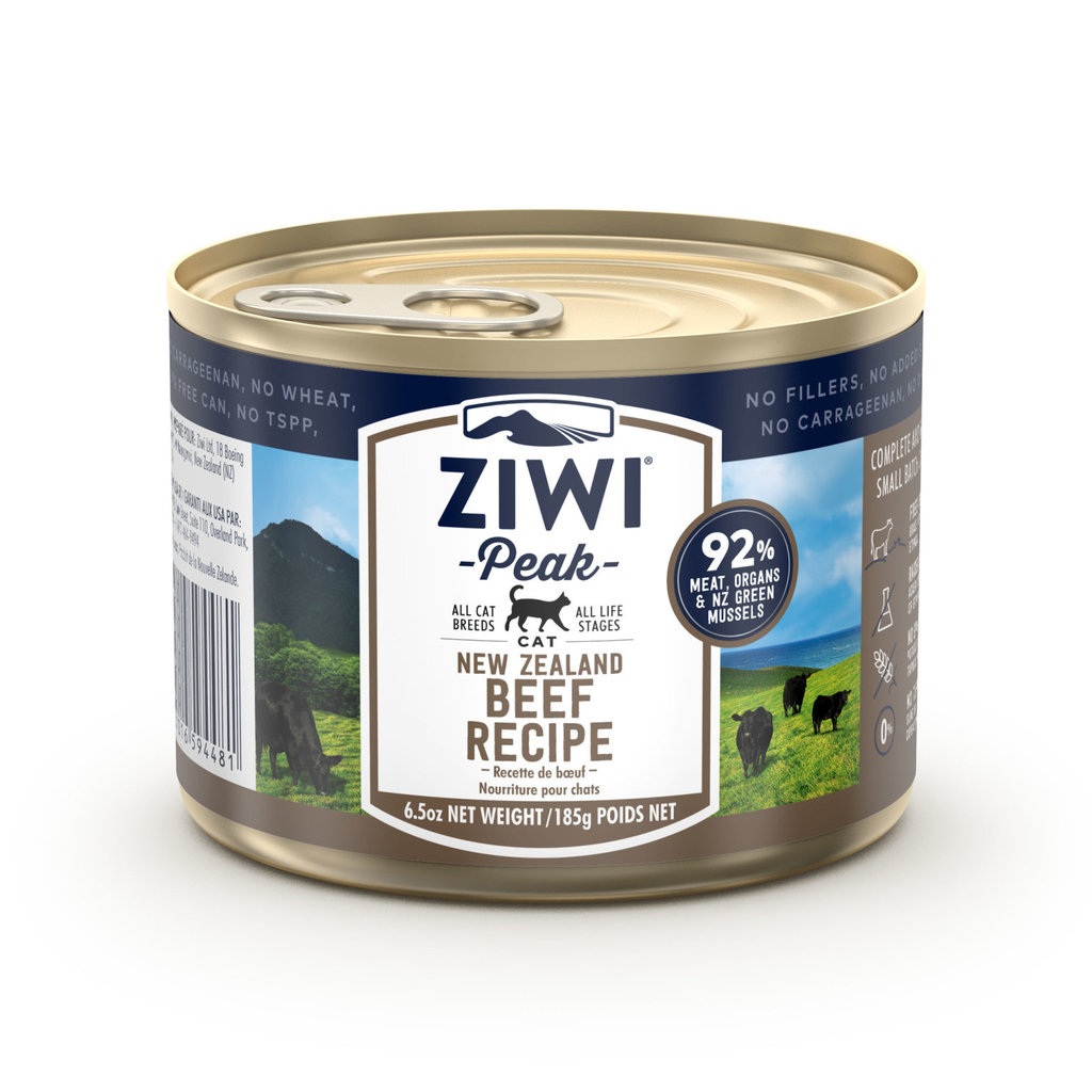 Ziwi Peak Ziwi Peak Cat Can Beef 6.5oz