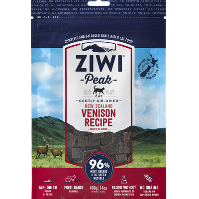 Ziwi Peak Ziwi Peak Air-Dried Cat Venison 14oz
