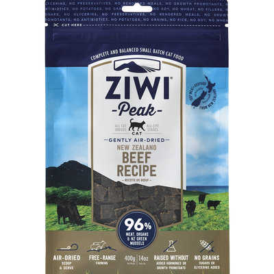 Ziwi Peak Ziwi Peak Air-Dried Cat Beef 14oz