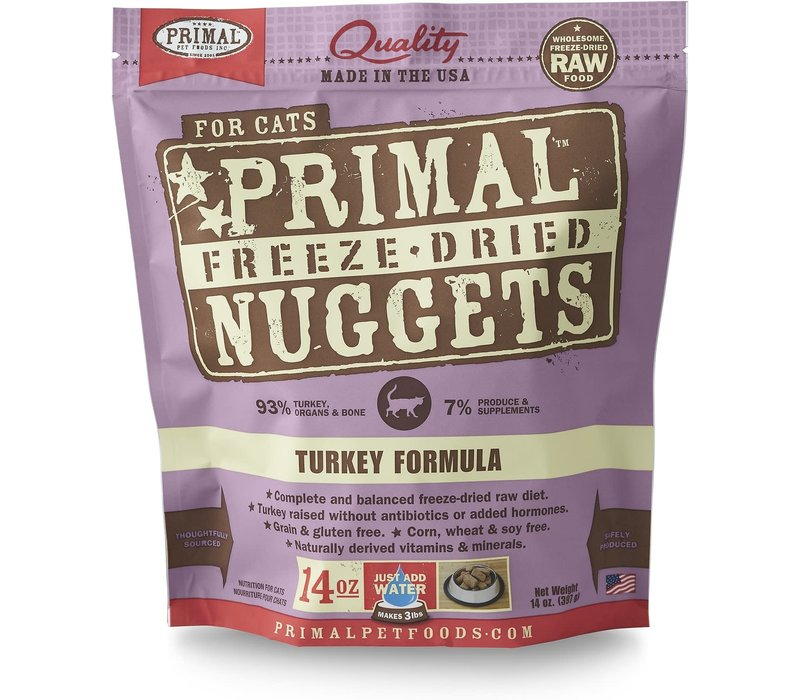 Frozen Primal Turkey Cat 14oz Makes 3lbs