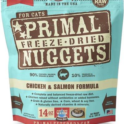 Primal Frozen Primal Cat Chicken / Salmon 3#