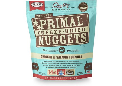 Primal Frozen Primal Cat Chicken / Salmon 3#