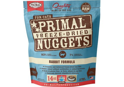 Primal Frozen Primal Rabbit Cat 14oz Makes 3lbs