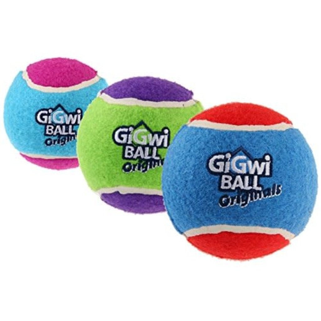 GiGwi Toys GiGwi Tennis Balls (3 Pack) - Medium