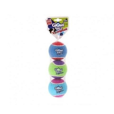 GiGwi Toys GiGwi Tennis Balls (3 Pack) - Small