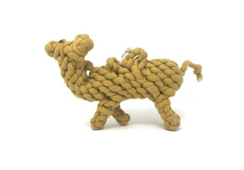 Peaks N Paws Toys Peaks N Paws Calvin The Camel Rope Toy