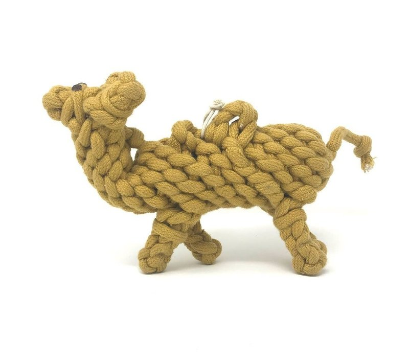 Peaks N Paws Calvin The Camel Rope Toy