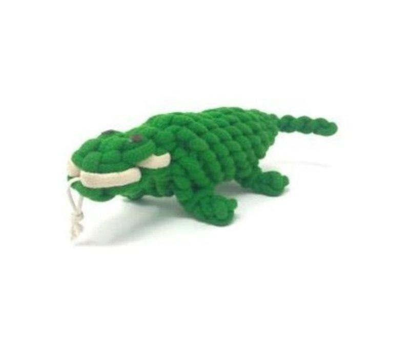Peaks N Paws The Alligator Rope Toy