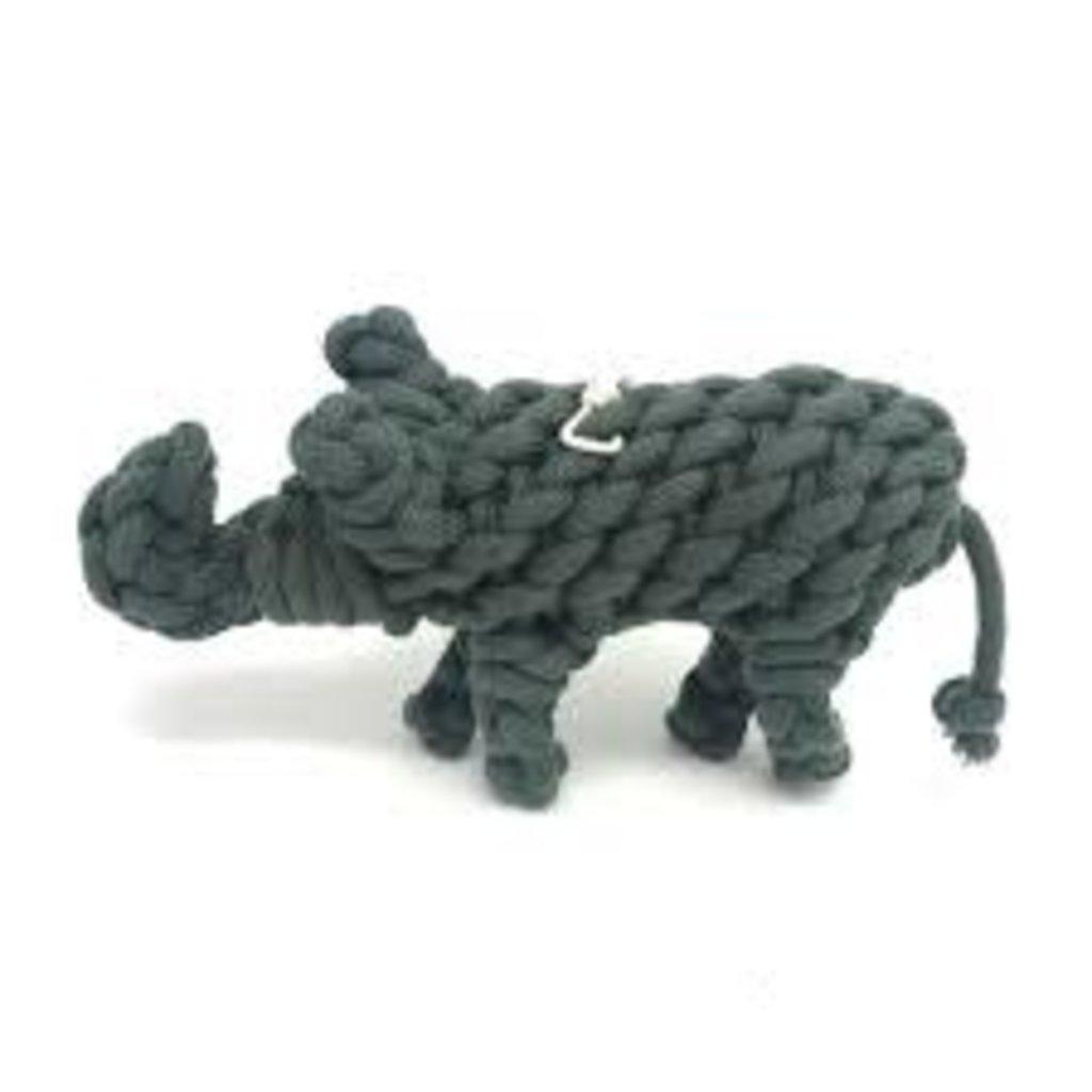 Peaks N Paws Toys Peaks N Paws Eddy The Elephant Rope Toy