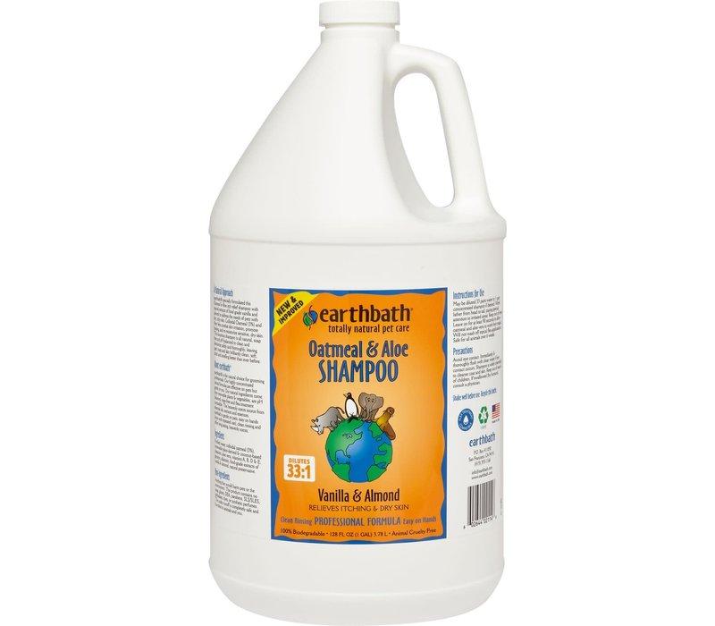 Earthbath Oat & Aloe Shampoo 1 Gal