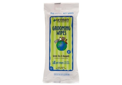 EarthBath Earthbath Grooming Wipes Green Tea 100ct