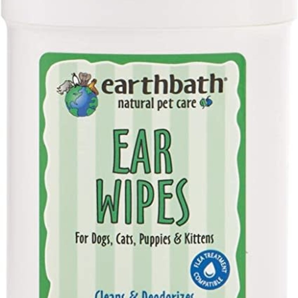 EarthBath Earthbath Ear Wipes 25ct