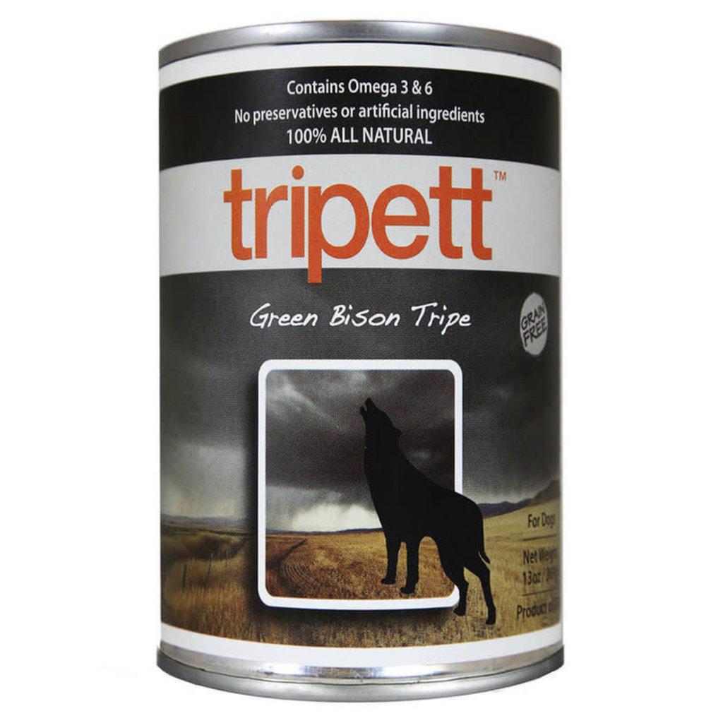 Tripett Tripett Green Bison Tripe Dog 13oz