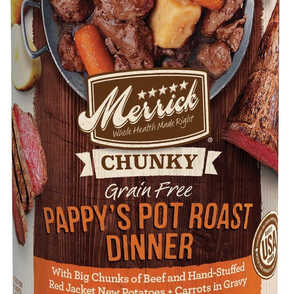 Merrick Merrick Chunky Pappy Rst 13oz