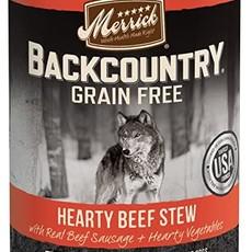 Merrick Merrick Backcountry Beef Stew 12.7oz