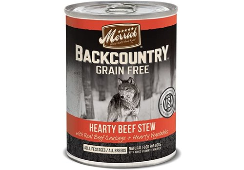 Merrick Merrick Backcountry Beef Stew 12.7oz