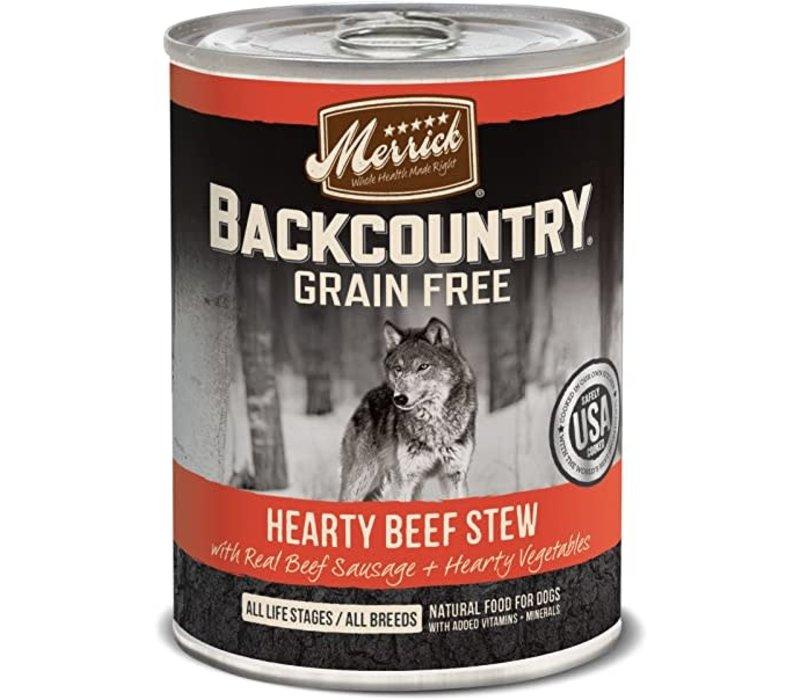 Merrick Backcountry Beef Stew 12.7oz