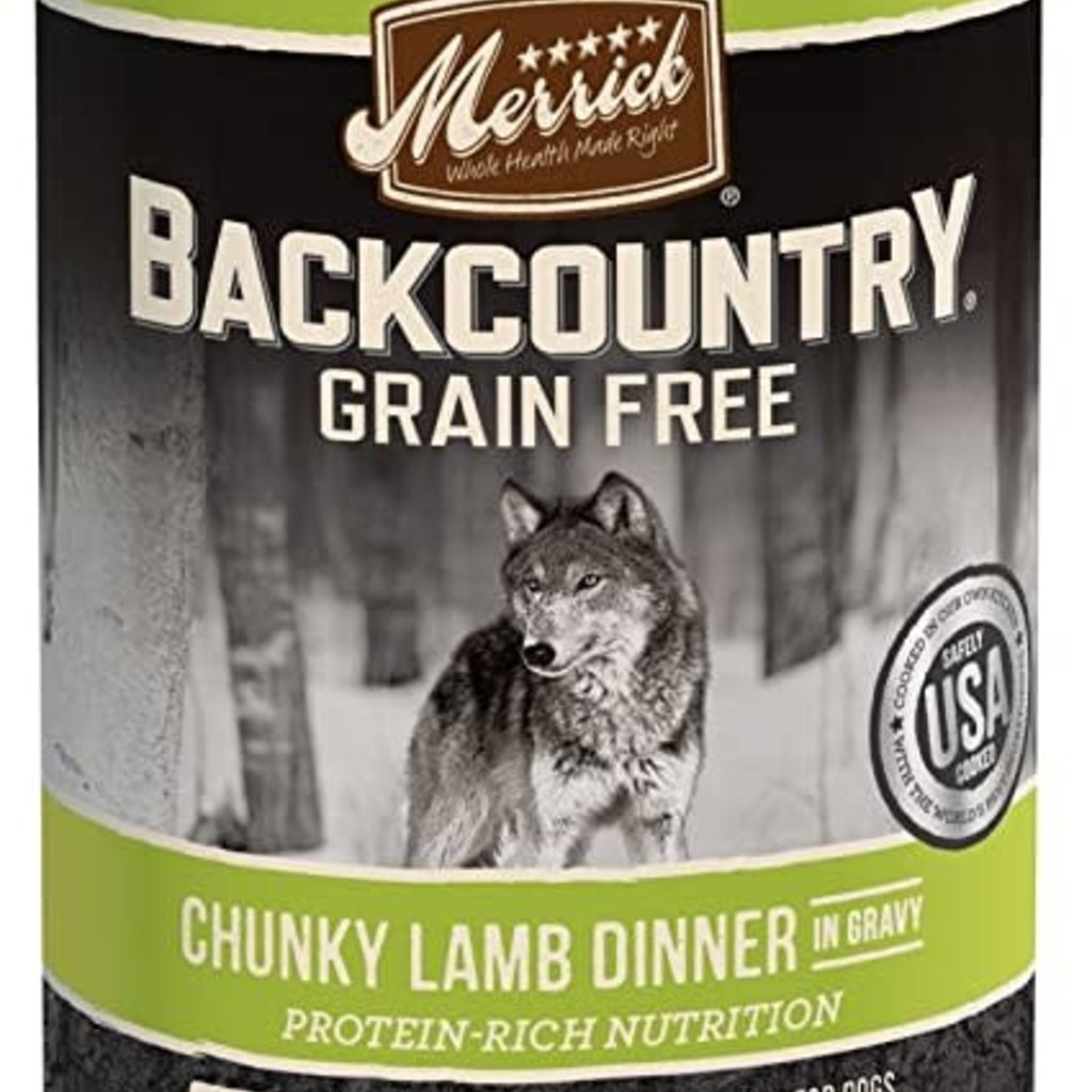 Merrick Merrick Backcountry Lamb 12.7oz