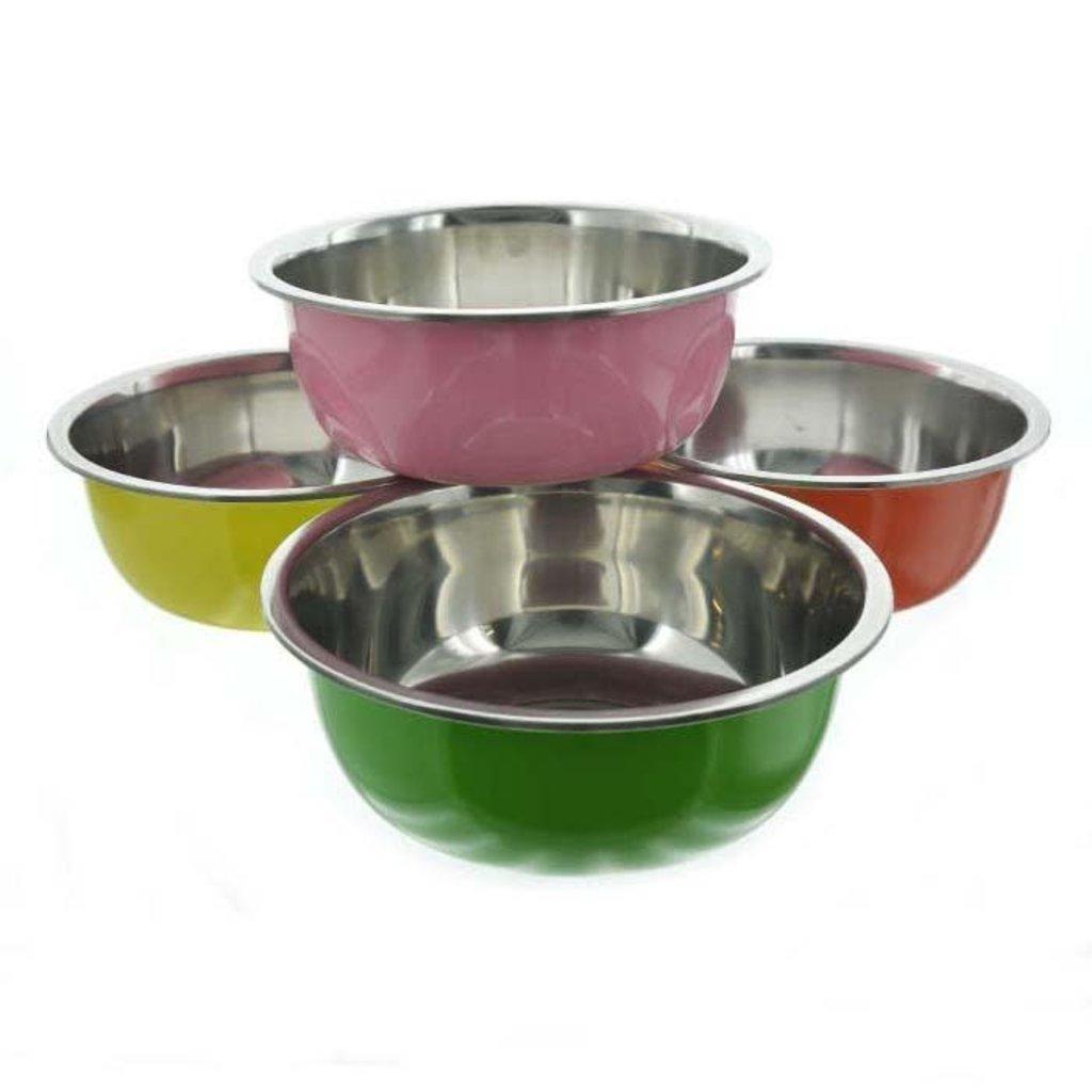 Bonita Bonita Large Metal Bowl Asst Colors
