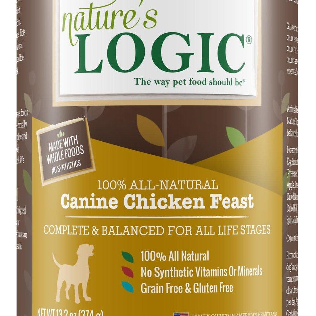 Nature's Logic Nature's Logic NL Canine GF Chicken 13.2oz