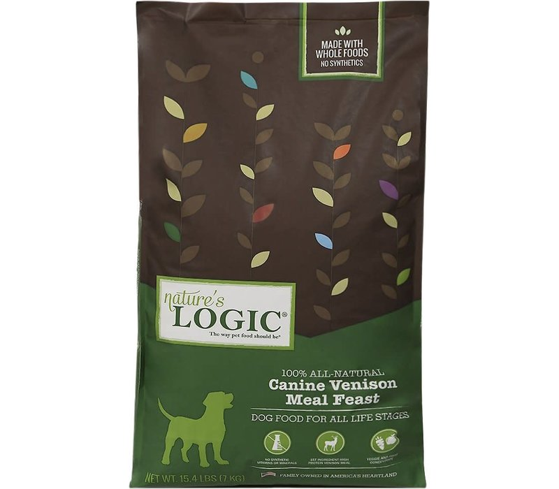 Nature's Logic Venison Dog 15#