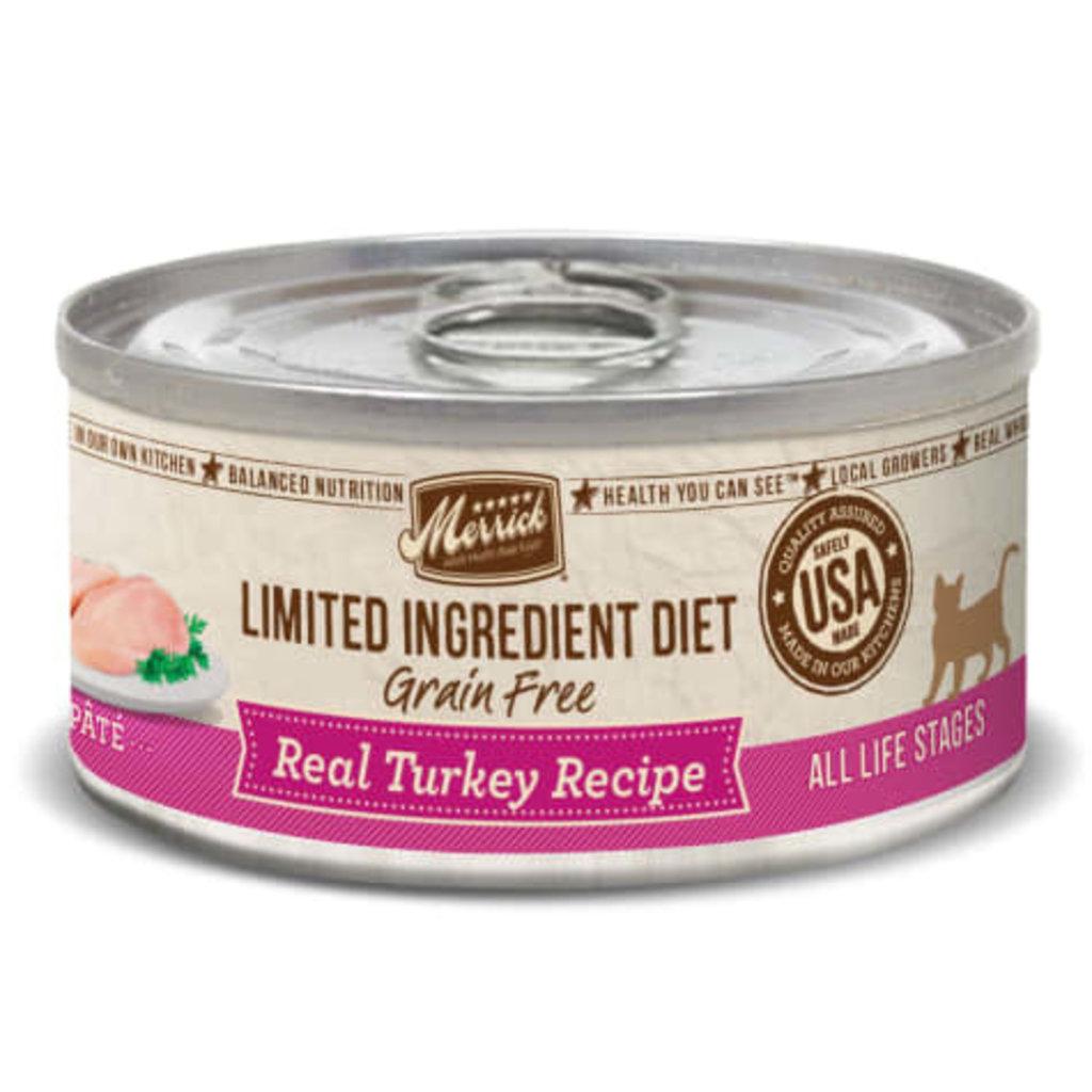 Merrick Merrick Limited Ingredient Diet Real Turkey 5oz Cat