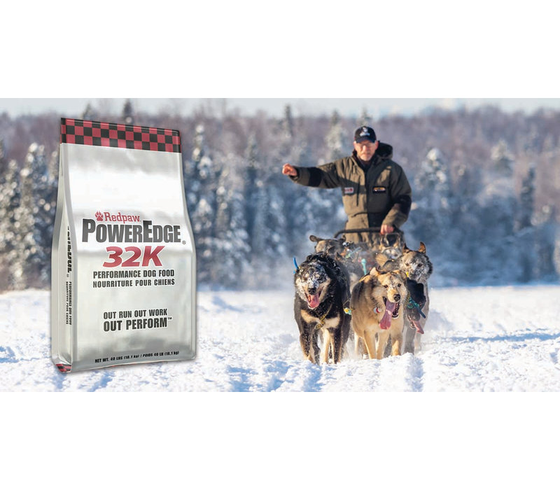 Redpaw PowerEdge 32K Dog Food - 40 lb Bag