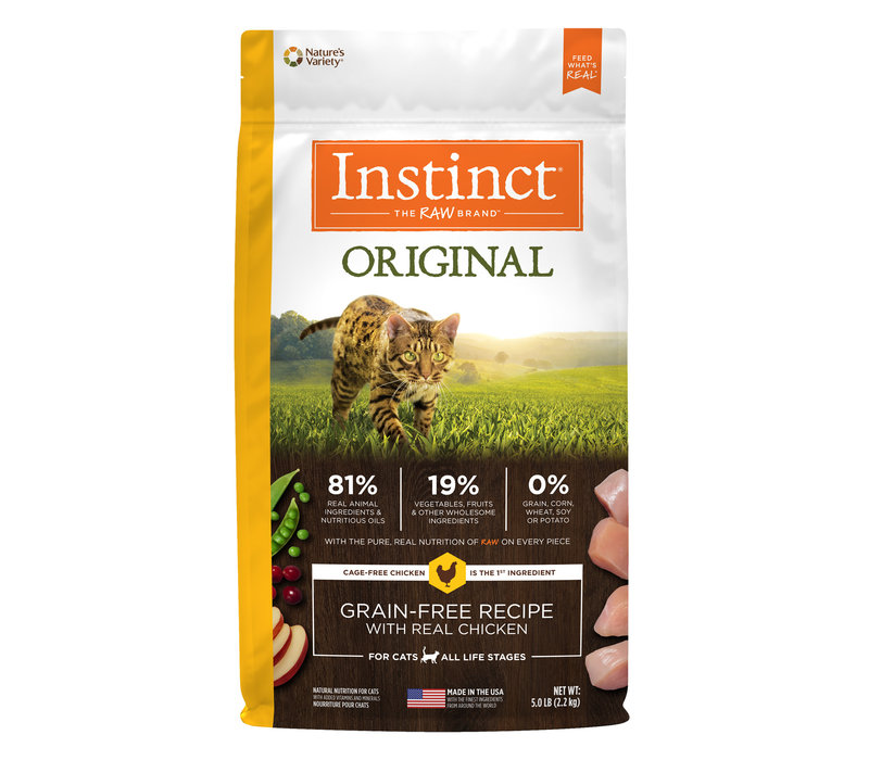Instinct Grain-Free Recipe with Real Chicken 11#