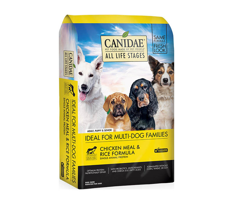 Canidae All Life Stages Chicken Meal & Rice Formula 30 lbs