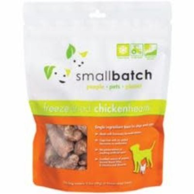 Small Batch Small Batch Chicken Heart Freeze-Dried Treats for Dog & Cat 3.5oz