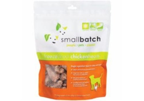 Small Batch Small Batch Freeze-Dried Chicken Heart Treats for Dog & Cat 3.5oz