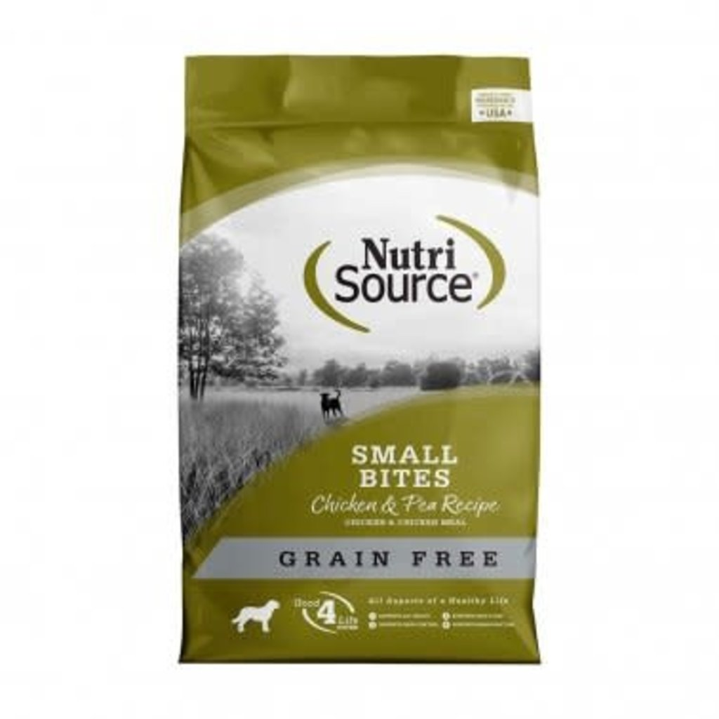 NutriSource NutriSource Grain Free Chicken Small Bites 15#