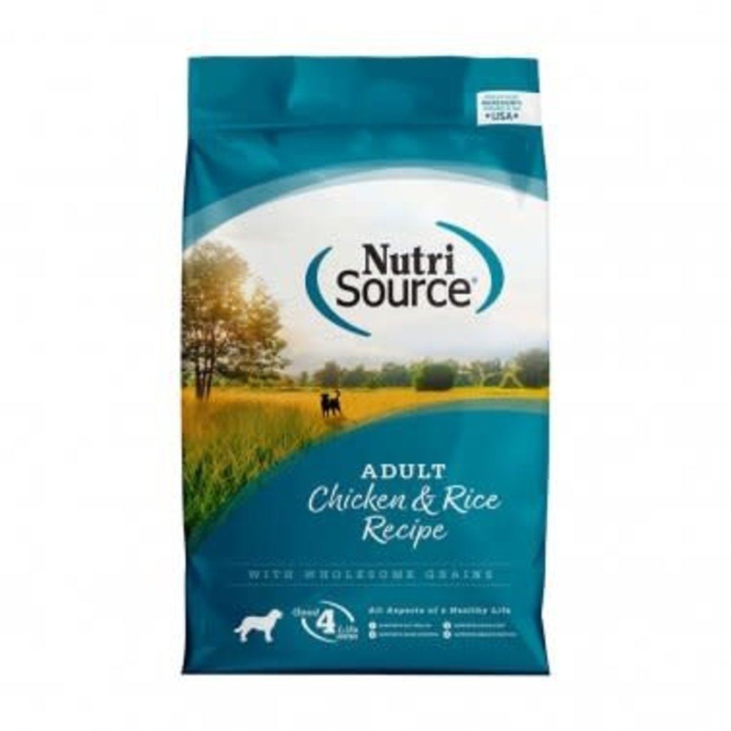 NutriSource NutriSource NS Adult Chicken/Rice 15#