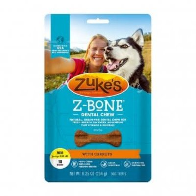 Zuke's Z-Bones Carrot Mini