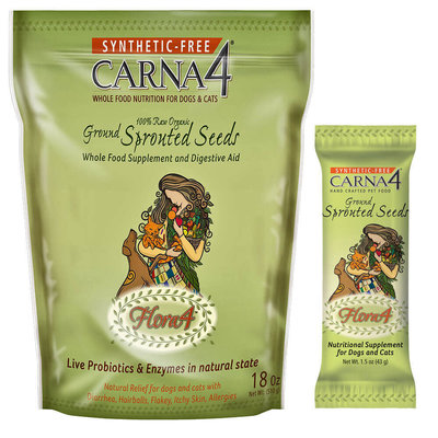 Carna4 Carna4 Ground Flora4 Sprouted Seeds 18oz